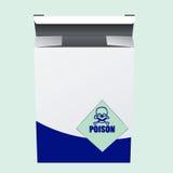 Box of poison Stock Photo