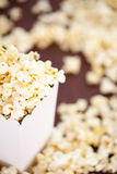 Box Of Pop Corn Royalty Free Stock Photos
