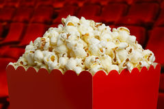 Box of popcorn Royalty Free Stock Image