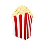 Box of popcorn Royalty Free Stock Photos