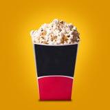 Box of popcorn Stock Photography