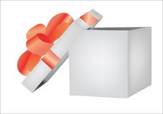 Box present Royalty Free Stock Images