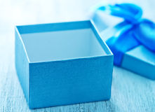 Box for present Royalty Free Stock Image