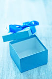 Box for present Stock Images