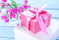 Box for present Royalty Free Stock Photos