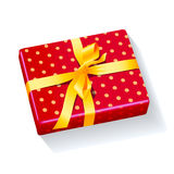Box present holiday xmas Royalty Free Stock Photos