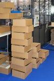 Box production Stock Photo