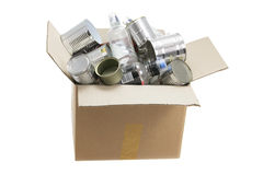 Box of Recycle Waste Royalty Free Stock Photography