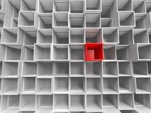 box red unique 图库摄影