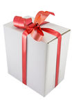 Box with the ribbon Royalty Free Stock Photos