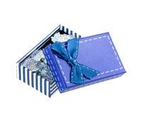 Box ribbon bow Royalty Free Stock Photography