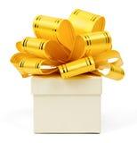 Box with ribbon Royalty Free Stock Photos