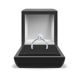 Box for ring Royalty Free Stock Image