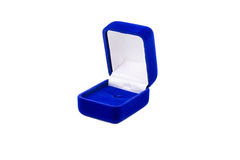 Box for rings Stock Photo