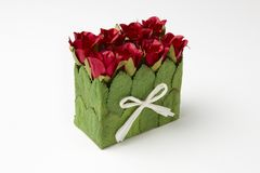 Box of roses Stock Photography