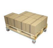 box shipping Royalty Free Stock Photography