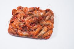 Box of Shrimp Choso. Shrimp Choso with white background Stock Photos