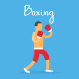 Box Sportsman Boxer Sport Competition Stock Photography