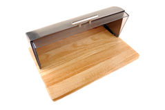 Box for storage of bread Royalty Free Stock Photography
