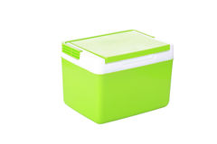 Box storage plastic container isolated Stock Images