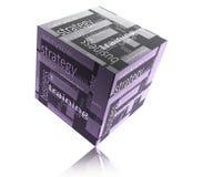 Box strategy Stock Photo