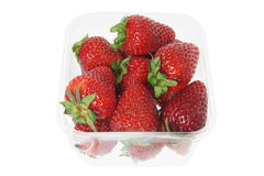 Box of Strawberries Stock Image