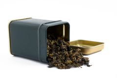 Box with tea Royalty Free Stock Photo