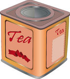 Box for tea Royalty Free Stock Image