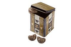 Box with tea Royalty Free Stock Image