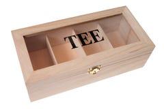Box for tea Stock Photo