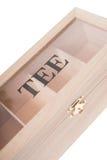 Box for tea Stock Photography