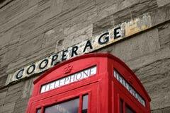 box telephone Στοκ Φωτογραφία