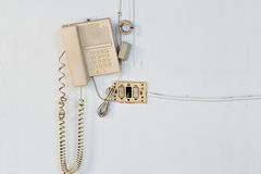 Box of telephone emergency call security Royalty Free Stock Image