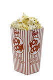 A box of theater popcorn Royalty Free Stock Image