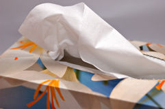 Box of tissues Stock Images