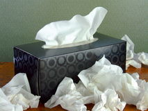 Box of Tissues Stock Image