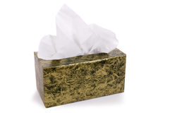 Box of tissues Stock Photography