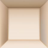 Box top view Royalty Free Stock Images