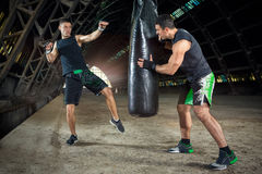 Box training Stock Photo