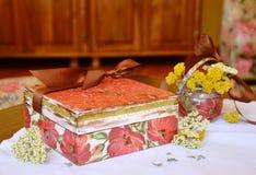 A box of treasures Stock Image