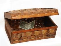 Box upwardly-opening Royalty Free Stock Photo