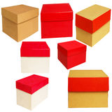 Box of various colors Royalty Free Stock Image