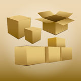 Box. Vector for business and popular object Royalty Free Stock Image