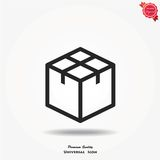 Box vector icon Royalty Free Stock Images