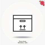 Box vector icon Stock Photo