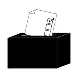 box of vote icon Royalty Free Stock Image