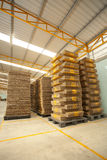 Box warehouse Stock Images