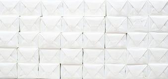 box white Royaltyfri Foto