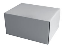 Box white Royalty Free Stock Photo