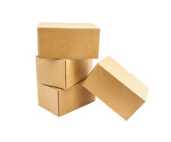 The box on white isolate background for design or decorate proje Stock Photography